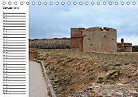Die Festung von Salses (Tischkalender 2019 DIN A5 quer) - Produktdetailbild 1
