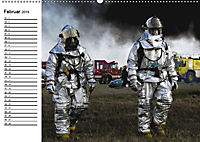 Die Feuerwehr. U.S. Firefighter im Einsatz (Wandkalender 2019 DIN A2 quer) - Produktdetailbild 2