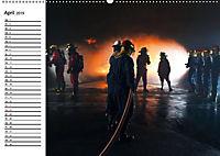 Die Feuerwehr. U.S. Firefighter im Einsatz (Wandkalender 2019 DIN A2 quer) - Produktdetailbild 4