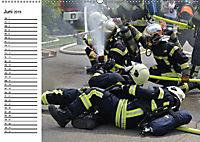 Die Feuerwehr. U.S. Firefighter im Einsatz (Wandkalender 2019 DIN A2 quer) - Produktdetailbild 6