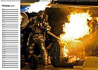 Die Feuerwehr. U.S. Firefighter im Einsatz (Wandkalender 2019 DIN A2 quer) - Produktdetailbild 10