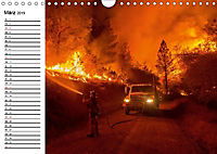 Die Feuerwehr. U.S. Firefighter im Einsatz (Wandkalender 2019 DIN A4 quer) - Produktdetailbild 3