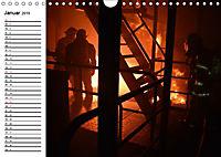 Die Feuerwehr. U.S. Firefighter im Einsatz (Wandkalender 2019 DIN A4 quer) - Produktdetailbild 1