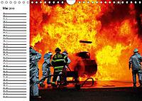 Die Feuerwehr. U.S. Firefighter im Einsatz (Wandkalender 2019 DIN A4 quer) - Produktdetailbild 5