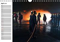 Die Feuerwehr. U.S. Firefighter im Einsatz (Wandkalender 2019 DIN A4 quer) - Produktdetailbild 4