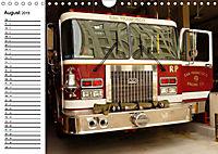 Die Feuerwehr. U.S. Firefighter im Einsatz (Wandkalender 2019 DIN A4 quer) - Produktdetailbild 8