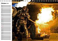 Die Feuerwehr. U.S. Firefighter im Einsatz (Wandkalender 2019 DIN A4 quer) - Produktdetailbild 10