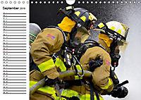 Die Feuerwehr. U.S. Firefighter im Einsatz (Wandkalender 2019 DIN A4 quer) - Produktdetailbild 9