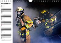 Die Feuerwehr. U.S. Firefighter im Einsatz (Wandkalender 2019 DIN A4 quer) - Produktdetailbild 11