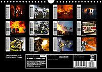 Die Feuerwehr. U.S. Firefighter im Einsatz (Wandkalender 2019 DIN A4 quer) - Produktdetailbild 13