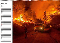 Die Feuerwehr. U.S. Firefighter im Einsatz (Wandkalender 2019 DIN A2 quer) - Produktdetailbild 3