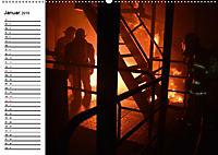 Die Feuerwehr. U.S. Firefighter im Einsatz (Wandkalender 2019 DIN A2 quer) - Produktdetailbild 1