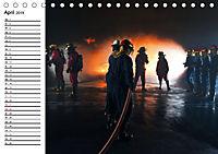 Die Feuerwehr. U.S. Firefighter im Einsatz (Tischkalender 2019 DIN A5 quer) - Produktdetailbild 4