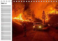 Die Feuerwehr. U.S. Firefighter im Einsatz (Tischkalender 2019 DIN A5 quer) - Produktdetailbild 3