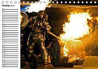 Die Feuerwehr. U.S. Firefighter im Einsatz (Tischkalender 2019 DIN A5 quer) - Produktdetailbild 10