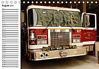 Die Feuerwehr. U.S. Firefighter im Einsatz (Tischkalender 2019 DIN A5 quer) - Produktdetailbild 8