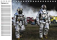 Die Feuerwehr. U.S. Firefighter im Einsatz (Tischkalender 2019 DIN A5 quer) - Produktdetailbild 2