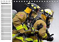 Die Feuerwehr. U.S. Firefighter im Einsatz (Tischkalender 2019 DIN A5 quer) - Produktdetailbild 9