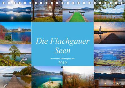 Die Flachgauer Seen (Tischkalender 2019 DIN A5 quer), Christa Kramer