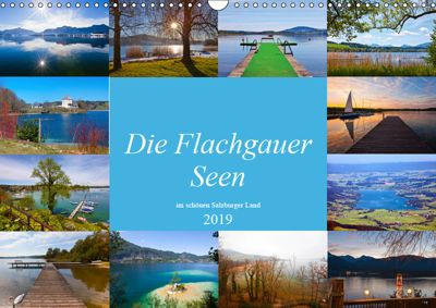 Die Flachgauer Seen (Wandkalender 2019 DIN A3 quer), Christa Kramer