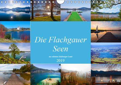 Die Flachgauer Seen (Wandkalender 2019 DIN A4 quer), Christa Kramer