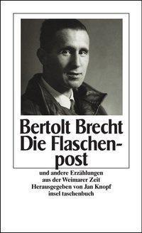 Die Flaschenpost und andere Erzählungen aus der Weimarer Zeit, Bertolt Brecht
