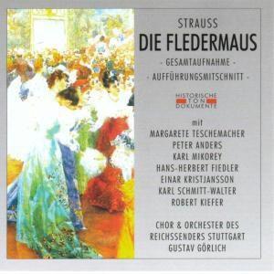 Die Fledermaus (Ga), Chor & Orch.Des Reichssenders Stuttgart