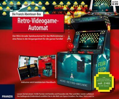 Die Franzis Abenteuer-Box Retro-Videogame-Automat (Experimentierkasten), Thomas Riegler