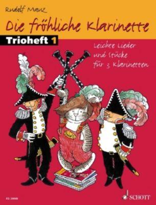 Die fröhliche Klarinette, Trioheft, Spielpartitur, Rudolf Mauz