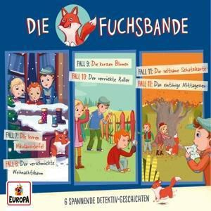 Die Fuchsbande 3er Detektiv-Box, 3 Audio-CDs