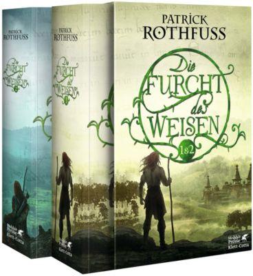 Die Furcht des Weisen, 2 Bde., Patrick Rothfuss