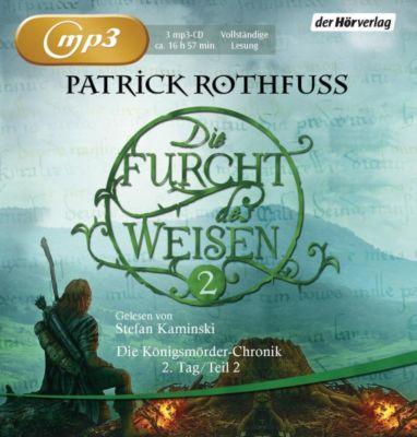 Die Furcht des Weisen, 3 MP3-CDs, Patrick Rothfuss