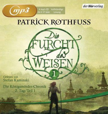 Die Furcht des Weisen, 4 MP3-CDs, Patrick Rothfuss