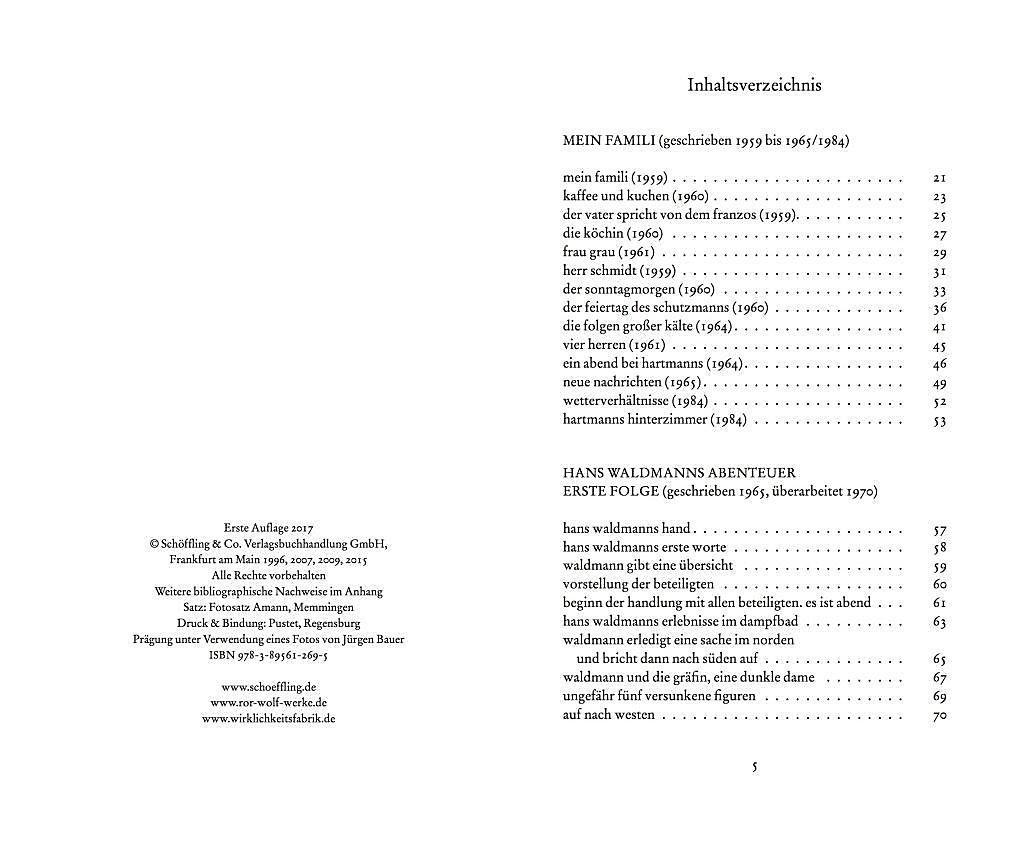 Die Gedichte Buch Von Ror Wolf Versandkostenfrei Bestellen