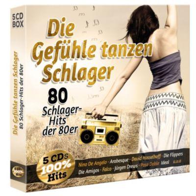Die Gefühle tanzen Schlager - 80 Schlager aus den 80ern (Exklusive 5CD-Box), Diverse Interpreten