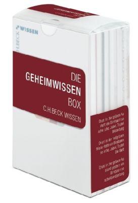 Die Geheimwissen Box, 6 Bde., Roland Edighoffer, Helmut Reinalter, Christoph Auffarth, Wolfgang Behringer, Gerd Schwerhoff
