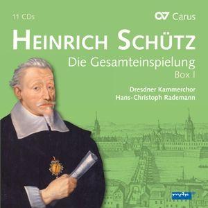 Die Gesamteinspielung Vol.1 (11 Cd+Dvd), Heinrich Schütz