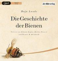 Die Geschichte der Bienen, 1 MP3-CD, Maja Lunde