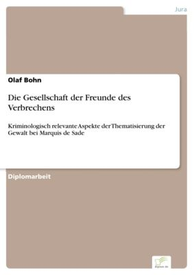 Die Gesellschaft der Freunde des Verbrechens, Olaf Bohn