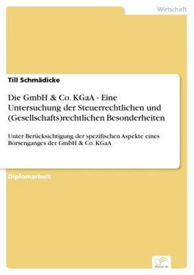 Die GmbH & Co. KGaA - Eine Untersuchung der Steuerrechtlichen und (Gesellschafts)rechtlichen Besonderheiten, Till Schmädicke