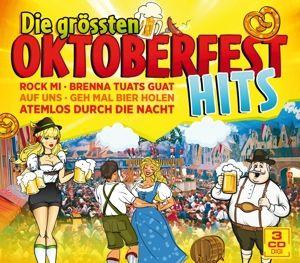 Die grössten Oktoberfesthits, Diverse Interpreten