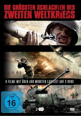 Die größten Schlachten des Zweiten Weltkriegs, 2 DVD
