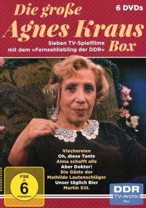 Die große Agnes Kraus Box - Sieben TV-Spielfilme mit dem >>Fernsehliebling der DDR DVD-Box, Agnes Kraus