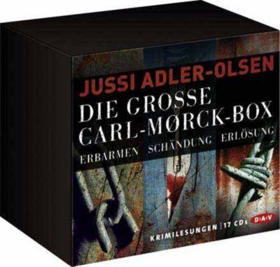 Die große Carl-Mørck-Box, Hörbuch, Jussi Adler-Olsen