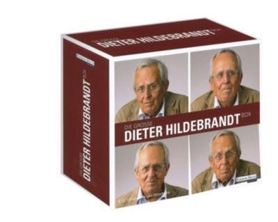 Die große Dieter Hildebrandt-Box,9 Audio-CDs