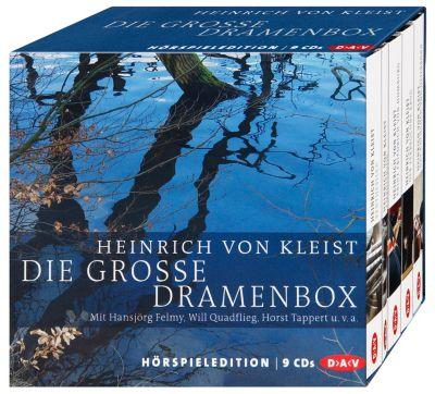 Die große Dramenbox, 9 Audio-CDs, Heinrich von Kleist