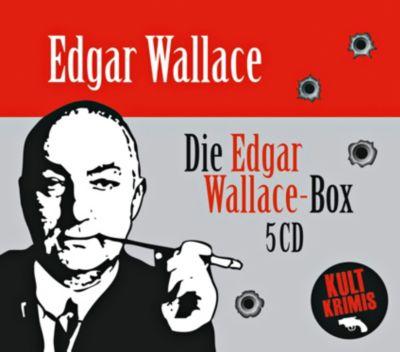 Die große Edgar Wallace-Box, 5 CDs, Edgar Wallace