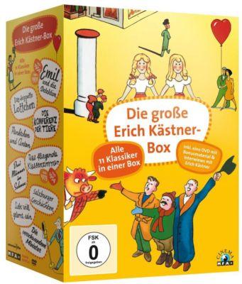 Die grosse Erich Kästner Box, Erich Kästner