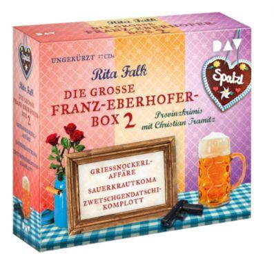 Die große Franz-Eberhofer-Box 2, 17 Audio-CDs, Rita Falk