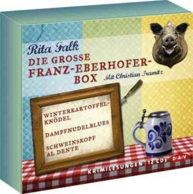 Die große Franz-Eberhofer-Box, Hörbuch, Rita Falk